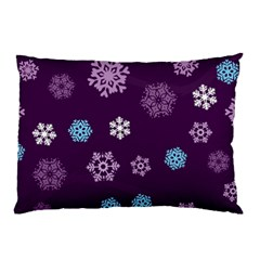 Winter Pattern 10 Pillow Case (two Sides) by tarastyle