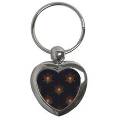 Winter Pattern 11 Key Chains (heart)  by tarastyle