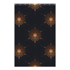 Winter Pattern 11 Shower Curtain 48  X 72  (small)  by tarastyle
