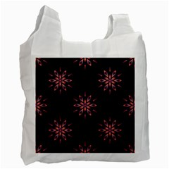 Winter Pattern 12 Recycle Bag (two Side)  by tarastyle