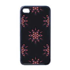 Winter Pattern 12 Apple Iphone 4 Case (black) by tarastyle