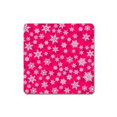 Winter Pattern 13 Square Magnet by tarastyle