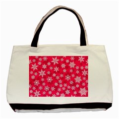 Winter Pattern 13 Basic Tote Bag (two Sides) by tarastyle