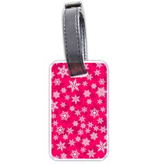 Winter Pattern 13 Luggage Tags (one Side)  by tarastyle