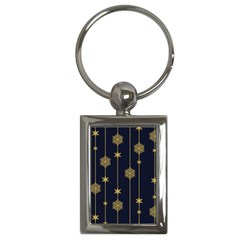 Winter Pattern 15 Key Chains (rectangle)  by tarastyle