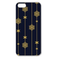 Winter Pattern 15 Apple Seamless Iphone 5 Case (clear) by tarastyle
