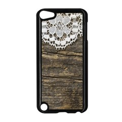 Shabbychicwoodwall Apple Ipod Touch 5 Case (black) by 8fugoso