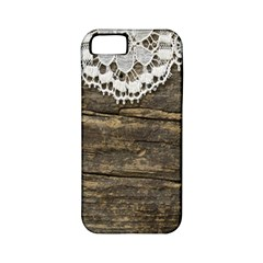 Shabbychicwoodwall Apple Iphone 5 Classic Hardshell Case (pc+silicone) by 8fugoso