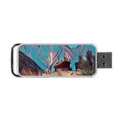 Modern Norway Painting Portable Usb Flash (one Side) by 8fugoso
