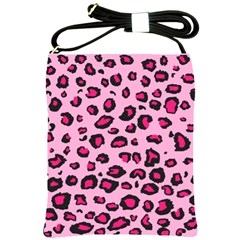 Pink Leopard Shoulder Sling Bags by TRENDYcouture