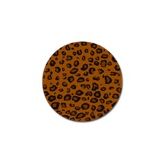 Dark Leopard Golf Ball Marker (4 Pack) by TRENDYcouture