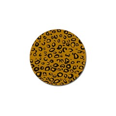Golden Leopard Golf Ball Marker (4 Pack) by TRENDYcouture