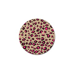 Pink Leopard 2 Golf Ball Marker (4 Pack) by TRENDYcouture