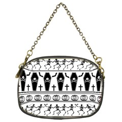 Halloween Pattern Chain Purses (two Sides)  by ValentinaDesign