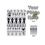 Halloween pattern Playing Cards 54 (Mini)