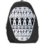 Halloween pattern Backpack Bag