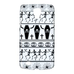 Halloween Pattern Galaxy S4 Active by ValentinaDesign