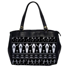 Halloween Pattern Office Handbags by ValentinaDesign