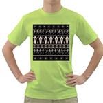 Halloween pattern Green T-Shirt