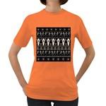 Halloween pattern Women s Dark T-Shirt