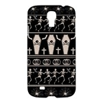 Halloween pattern Samsung Galaxy S4 I9500/I9505 Hardshell Case
