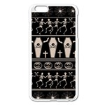 Halloween pattern Apple iPhone 6 Plus/6S Plus Enamel White Case