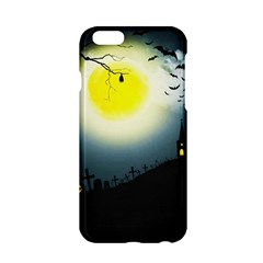 Halloween Landscape Apple Iphone 6/6s Hardshell Case by ValentinaDesign
