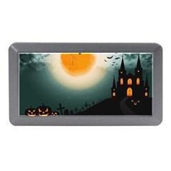 Halloween Landscape Memory Card Reader (mini) by ValentinaDesign