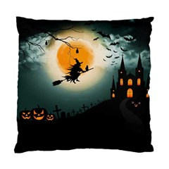 Halloween Landscape Standard Cushion Case (one Side) by ValentinaDesign