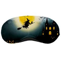 Halloween Landscape Sleeping Masks by ValentinaDesign