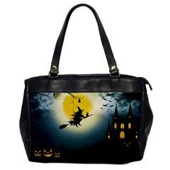 Halloween Landscape Office Handbags by ValentinaDesign