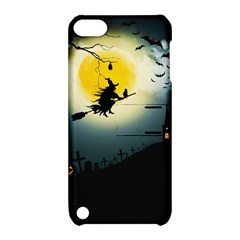 Halloween Landscape Apple Ipod Touch 5 Hardshell Case With Stand by ValentinaDesign