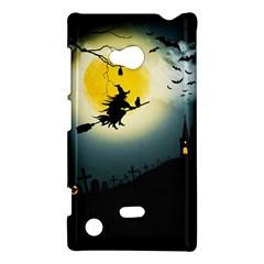 Halloween Landscape Nokia Lumia 720 by ValentinaDesign