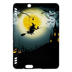 Halloween Landscape Kindle Fire Hdx Hardshell Case by ValentinaDesign