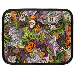 Halloween Pattern Netbook Case (large) by ValentinaDesign