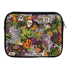 Halloween Pattern Apple Ipad 2/3/4 Zipper Cases by ValentinaDesign