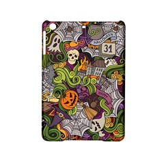 Halloween Pattern Ipad Mini 2 Hardshell Cases by ValentinaDesign
