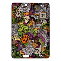 Halloween Pattern Amazon Kindle Fire Hd (2013) Hardshell Case by ValentinaDesign
