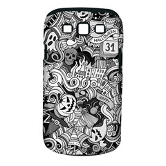 Halloween Pattern Samsung Galaxy S Iii Classic Hardshell Case (pc+silicone) by ValentinaDesign