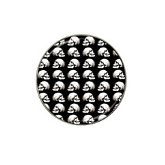 Halloween Skull Pattern Hat Clip Ball Marker by ValentinaDesign