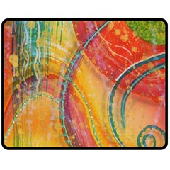 Img 5782 Double Sided Fleece Blanket (medium)  by CreativeSoul