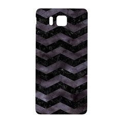 Chevron3 Black Marble & Black Watercolor Samsung Galaxy Alpha Hardshell Back Case by trendistuff