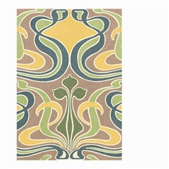 Art Nouveau Small Garden Flag (two Sides) by 8fugoso