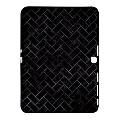 Brick2 Black Marble & Black Watercolor Samsung Galaxy Tab 4 (10 1 ) Hardshell Case  by trendistuff