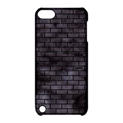 Brick1 Black Marble & Black Watercolor (r) Apple Ipod Touch 5 Hardshell Case With Stand by trendistuff