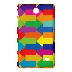 Arrow Rainbow Orange Blue Yellow Red Purple Green Samsung Galaxy Tab 4 (8 ) Hardshell Case  by Mariart