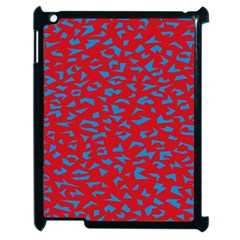 Blue Red Space Galaxy Apple Ipad 2 Case (black) by Mariart