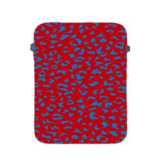 Blue Red Space Galaxy Apple Ipad 2/3/4 Protective Soft Cases by Mariart