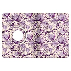 Vegetable Cabbage Purple Flower Kindle Fire Hdx Flip 360 Case by Mariart