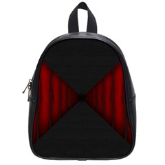 Black Red Door School Bag (small) by Mariart